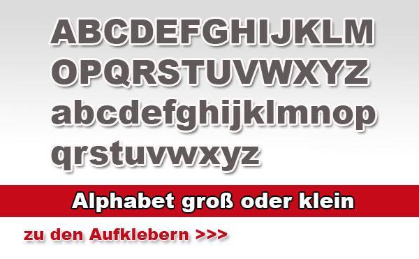 Aufklebermachershop Buchstaben Aufkleber Aus Farbiger