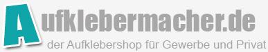 Aufklebermachershop-Logo